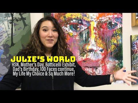 Julie's World Vlog: May 8 - 14, 2017
