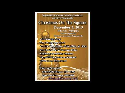 Christmas On The Square & Antique Trail Radio Ad 1213