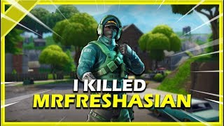 How I Killed a Pro Fortnite Player (RNG mrfreshasian)