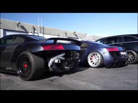 The Sound And The Twerk...Audi R8's | ARMYTRIX | AccuAir | Boden