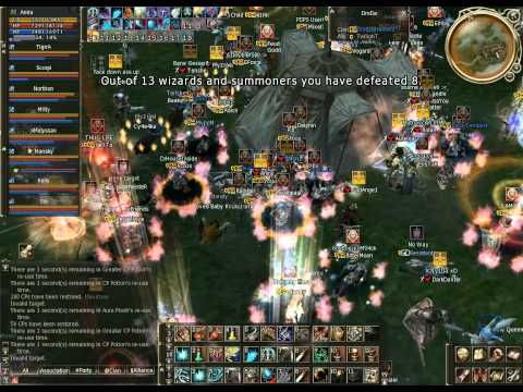 Lineage 2 , Anira Clan Redsky , First Territory war , Server Teon