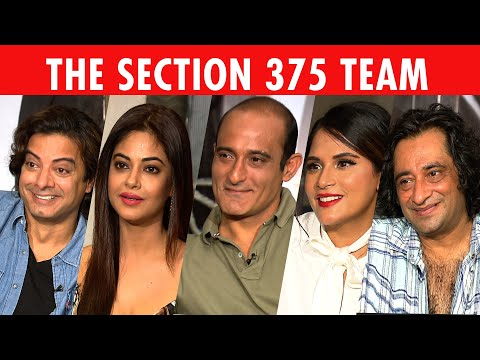 The Most Candid Richa Chadha, Akshaye Khanna, Rahul Bhat & Meera Chopra Interview | Section 375 Mp3