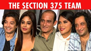 The Most Candid Richa Chadha, Akshaye Khanna, Rahul Bhat \u0026 Meera Chopra Interview | Section 375