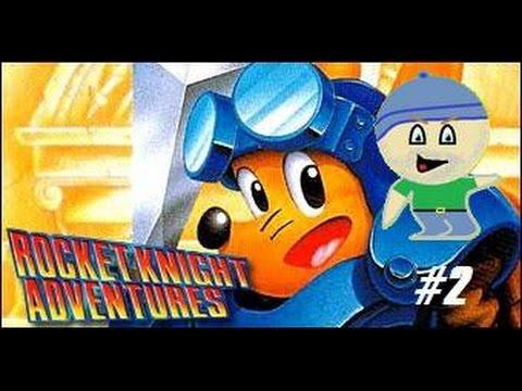 Power Games #2 - Rocket Knight Adventures (Mégadrive)  
