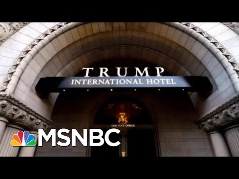 Lawsuit Accuses President Donald Trump Of Violating Emoluments Clause | MTP Daily | MSNBC