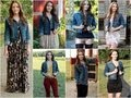 ♡ 7 Ways to Style a Denim Jacket ♡
