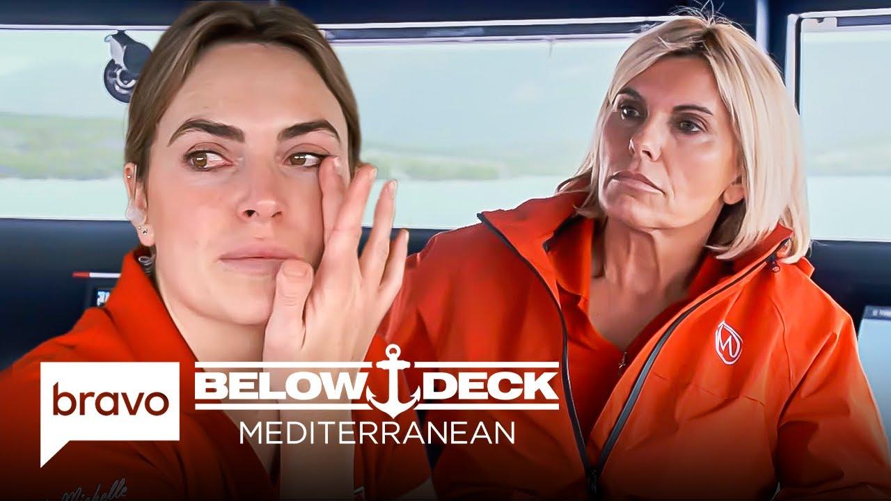 Download Captain Sandy and Katie Discuss Keeping Delaney | Below Deck Mediterranean Highlights (S6 E11)
