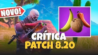 Neue CONSUMABLES, neue Falle und CONSTRUCTION Änderungen | Fortnite News Patch 8.20