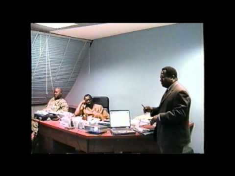 Travis Business Group Presentation on Pipeline Security at PPMC Abuja March, 2004