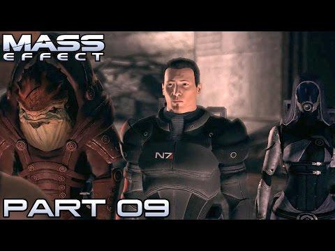 Let's Play Mass Effect Deutsch #09 - In den Tunnel