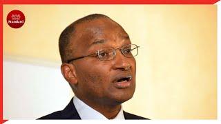 CBK governor Patrick Njoroge says Kenya\'s huge debt might crush the economy