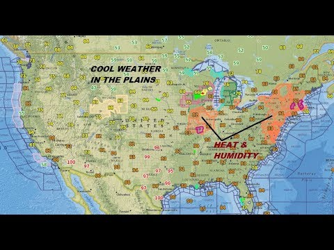 OPPRESSIVE HEAT PARTS OF THE NORTHEAST, COOL WEATHER IN THE WEST, TROPICS QUIET FOR NOW