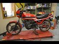 Will It Run? Pt 1/3 GPZ-550 Garage Find 1983 Kawasaki KZ