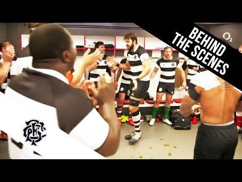 Barbarians pre-match song at Twickenham
