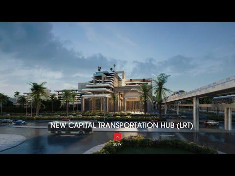 NEW CAPITAL TRANSPORTATION HUB (LRT)
