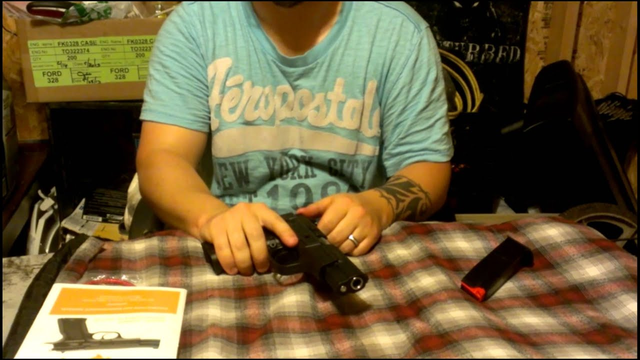 SAR ARMS B6P 9mm Full Review