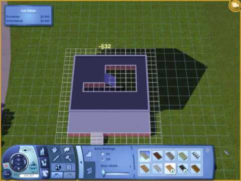 The Sims 3 How To Make A Basement With Foundation Using Tool You