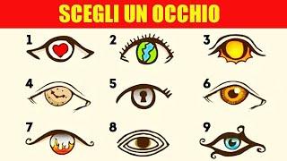 Scegli un OCCHIO e ti dirò come vedi il Mondo (Test Psicologico)