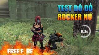 [Garena Free Fire] TEST Trang Phục ROCKER Nữ | Sỹ Kẹo