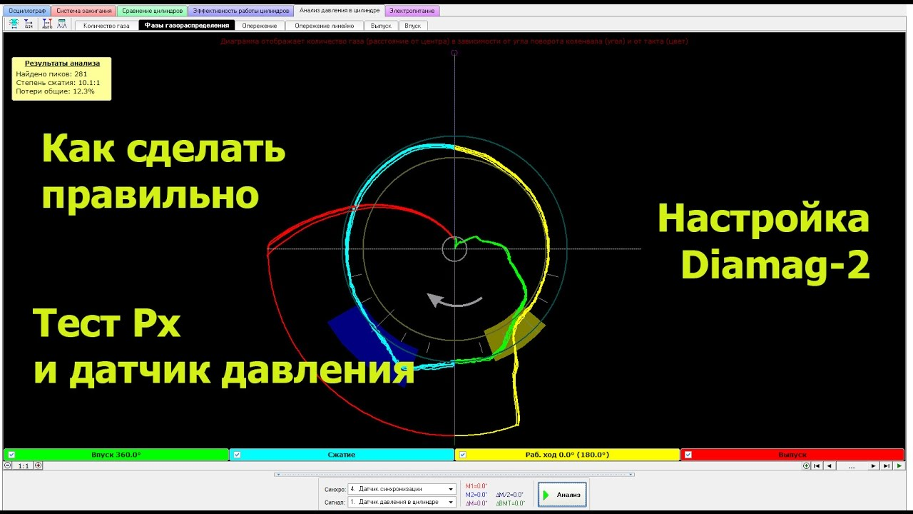 Diamag 2. Как проверить ГРМ автомобиля.