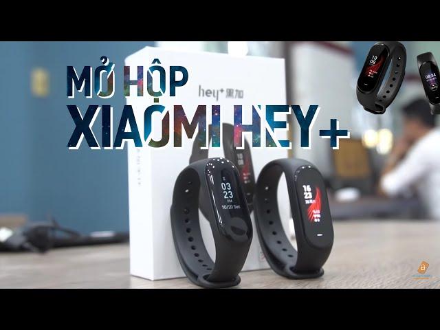 M? H?p Xiaomi Hey+ Vòng ?eo Tay Thông Minh ??u Tiên T?i Vi?t Nam - Chi?m Tài Mobile