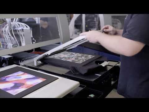 Behind The Scenes Digital T-shirt Printing @ The Print Bar