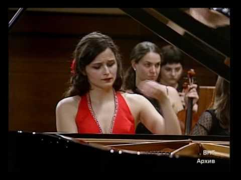 Dora Deliyska plays Liszt concerto N2, (2)