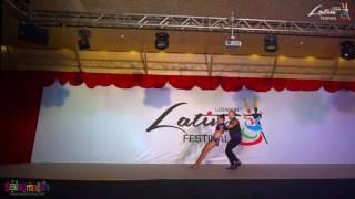 Makriss Dance Ministry Show   Lebanon Latin Festival 2016
