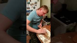 пирожки с картошкой,как у бабушки в деревне)