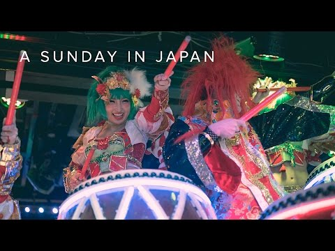 A SUNDAY IN JAPAN