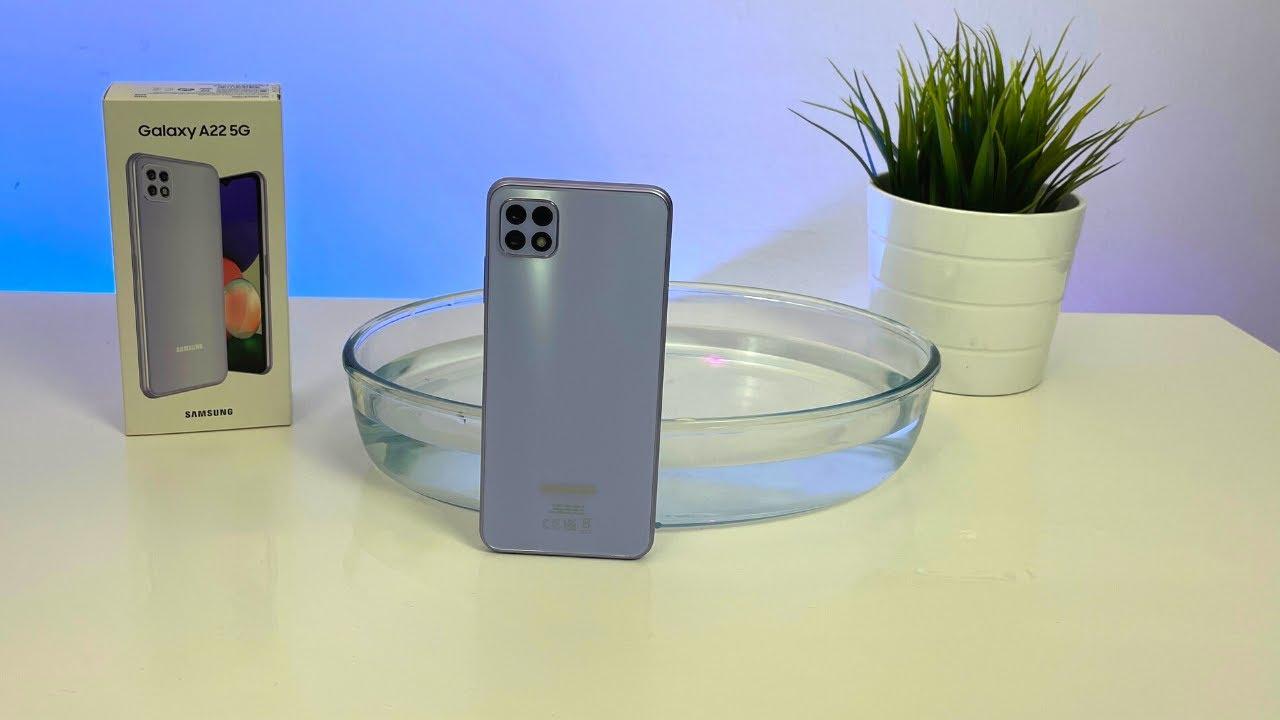 Samsung galaxy a22 5g prueba de agua