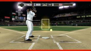 MLB 2K11:  Extended Gameplay Trailer