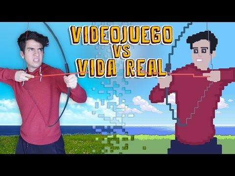 VIDEOJUEGOS VS VIDA REAL | Gonzok
