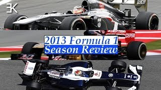 2013 Formula 1 Season Review: Sauber, Toro Rosso and Williams
