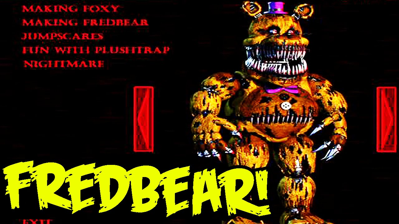 Five nights at freddy s 4 nightmare fredbear found in game files