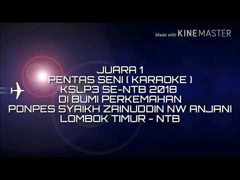 Keren !  MA NW Sikur juara 1 Pentas Seni (karaoke) Se- NTB 2017