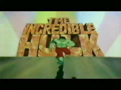 INCREDIBLE HULK 1981 Cartoon Intro