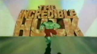 INCREDIBLE HULK 1981 Cartoon Intro