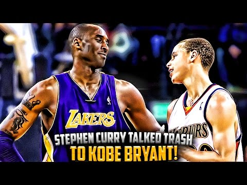 The Time Steph Curry Talked TRASH To Kobe Bryant & FAILED!!