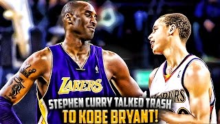 The Time Steph Curry Talked TRASH To Kobe Bryant & FAILED!! thumbnail