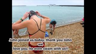 Fun in Dover Castle and First Swim in England, It Was Freezing!!!!! 06/20/15