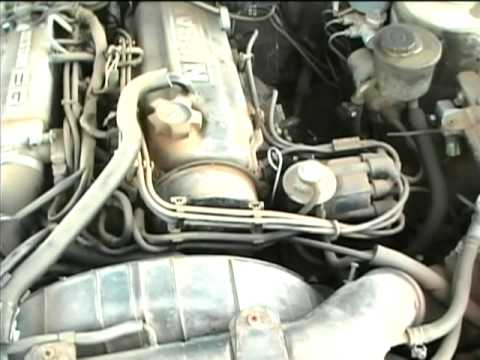 1984 Nissan 200SX Fuel Pump Test and Start-Up - YouTube