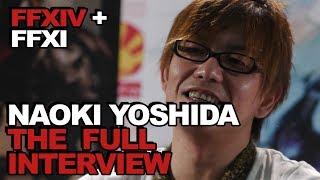 An Interview With Naoki Yoshida: We Talk FFXIV Jobs, Patch 4.3 Raids + FFXI Mobile!