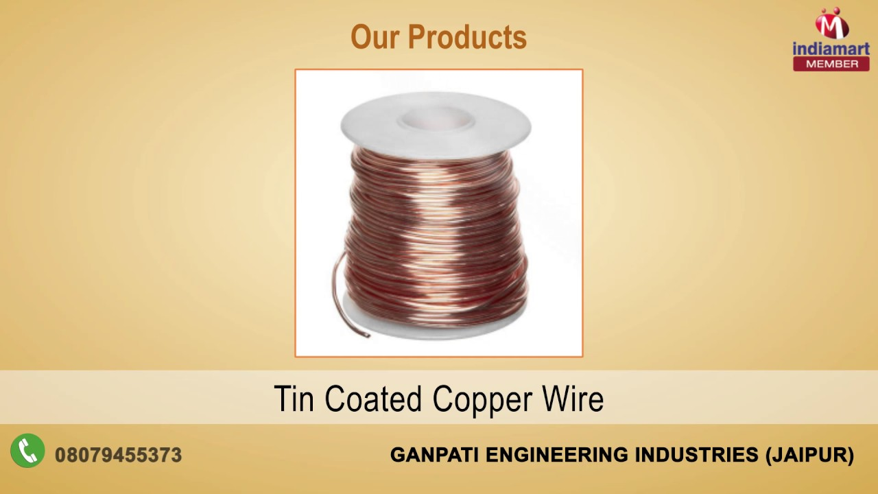 Industrial Copper Wires & Glass Wires By Ganpati Engineering ...