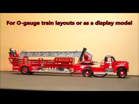 Huge fire truck