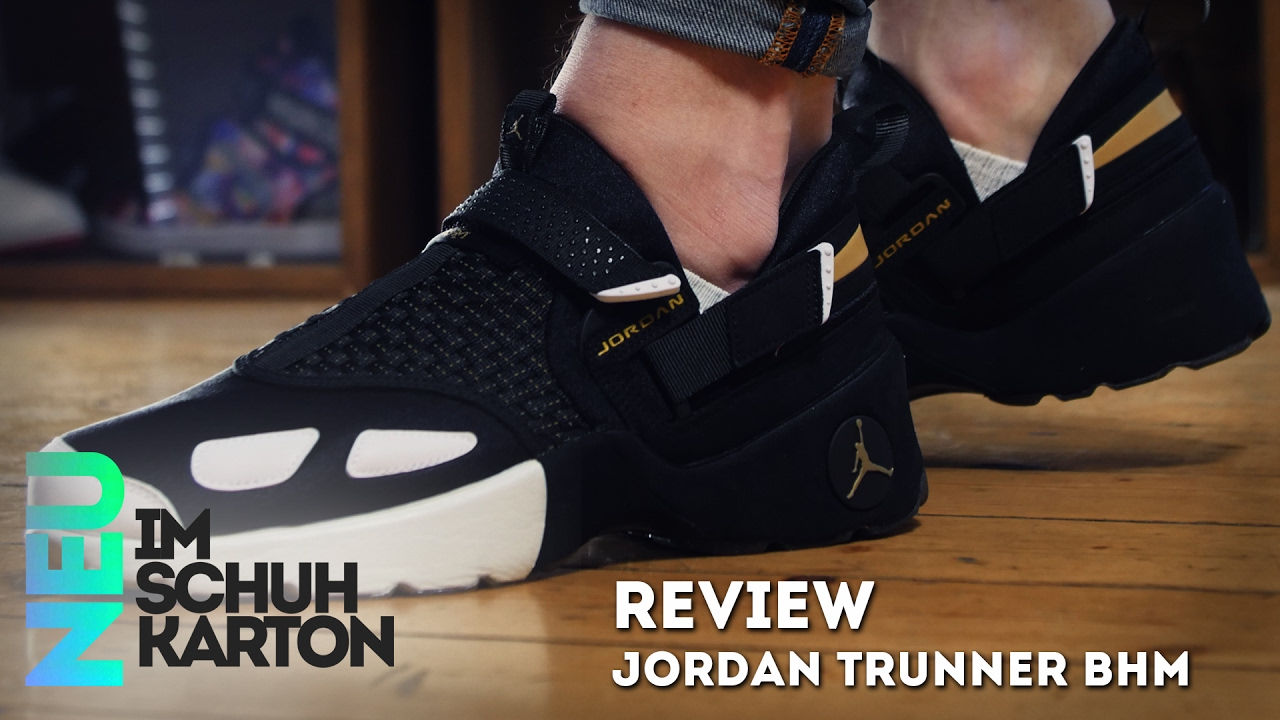 premium selection 83188 8eb43 Jordan Trunner LX BHM   Review