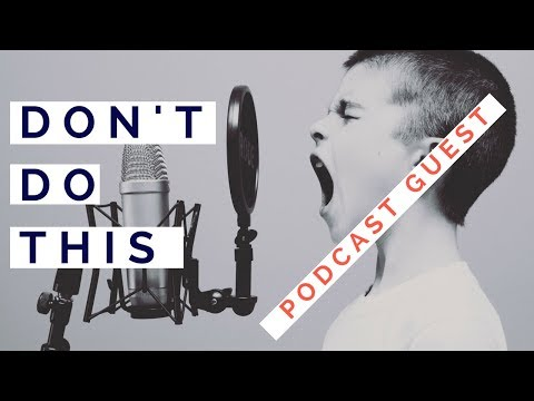 WHAT NOT TO DO AS A PODCAST GUEST #$&*%# | AGENCY LEAD GEN STRATEGY