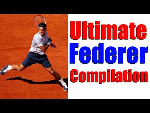 Ultimate Roger Federer Compilation