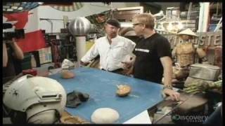 Mythbusters: Exploding cigarette lighter part 1