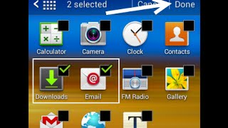 Samsung Hide Apps Without Any Application